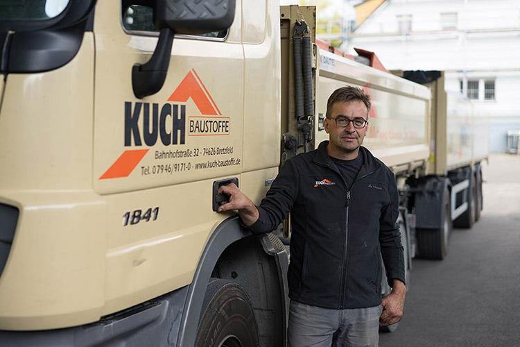 Fahrer Reiner Fromm