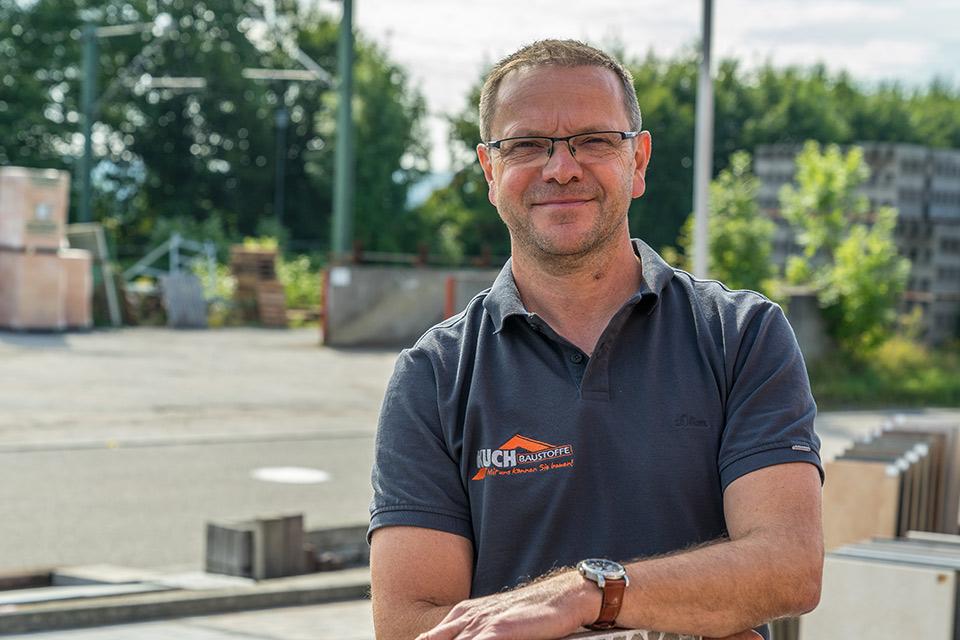 Geschäftsführer Wolfgang Kuch