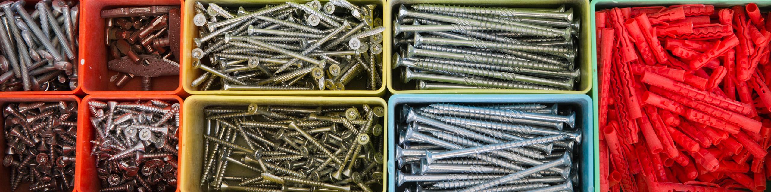 Baufachmarkt Schrauben Arbeitsmittel